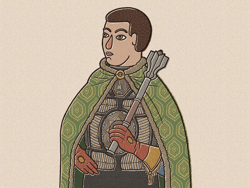 Mikhail Skopin-Shuisky children book book illustration history russian novgorod character russia medieval illustration