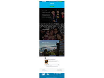 Redesigning the Moovweb Careers Page