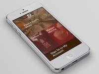 Peet's Coffee & Tea Mobile Site