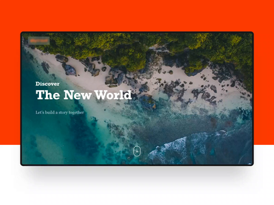 Discover the world! branding ux design illustration planet earth planet discovering discovery discover animation ukraine development system design agency web design lasoft ux ui