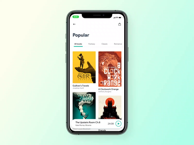 Book App reading app reading books book cover book agency app icon typography branding ux design illustration animation development design agency web design lasoft ux ui