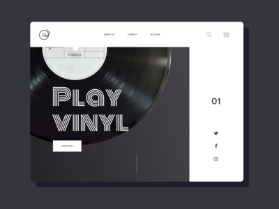 Play Vinyl | Online Shop animation development dashboard system design agency web design lasoft ux ui