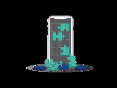 UX for Mobile - the rise of Fat-Finger Design blog flat design app design uxuidesign mobile app mobile ui uxui illustration