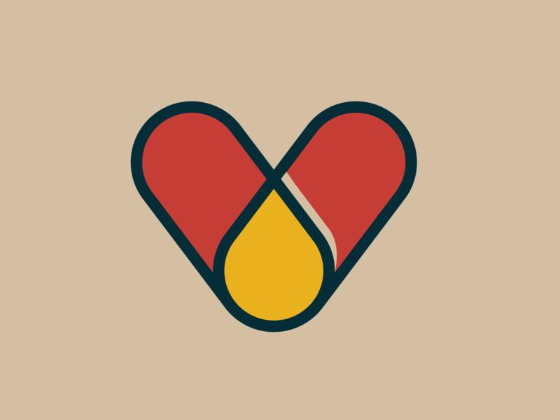 V pills vector graphicdesgn logodesign monogram logo graphicdesign typography monogram type lettering letter 36daysoftype 36days design