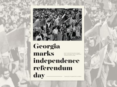 Independence of Georgia