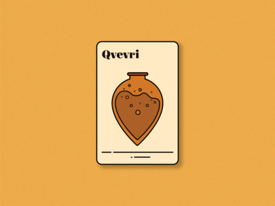 Qvevri (saperavi magic playing card)