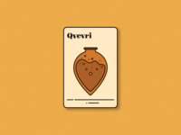 Qvevri (saperavi magic playing card)