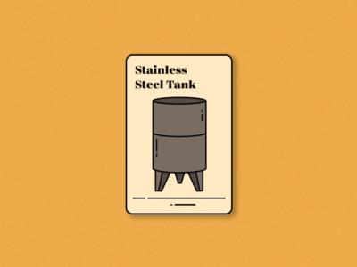 Steel Tank (saperavi magic playing card)