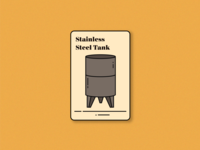 Steel Tank (saperavi magic playing card)