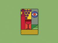 SAPERAVI MAGIC (playing card background)