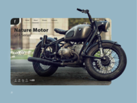 Motorcycle site page