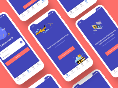 Postal delivery by travelers (App concept)