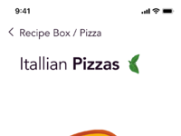 Recipe box app   pizza margherita 02