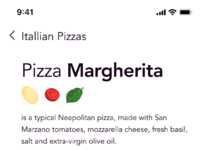 Recipe box app   pizza margherita 03