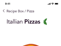 Recipe box app   pizza margherita 01