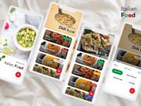Italian Food App (Menu & Filters)