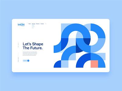Landing Page web site web design agency web designer webdesign app web colors shapes icon ux ui brand design landing page landing