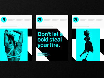 Replay - Social Media Concept urgent care social media logos typography logotype brand vector illustration design logo icon branding