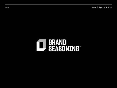Brand Seasoning Logo brand logo branding design ui typography logotype brand illustration vector logo design icon branding