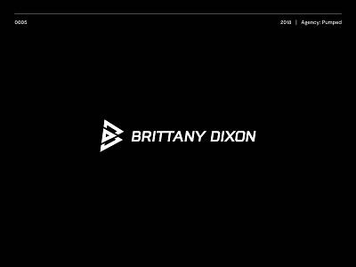 Brittany Dixon logos typography logotype brand illustration vector logo design icon branding