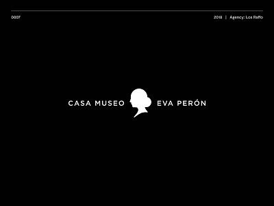 Casa Museo Eva Perón logodesign typography logotype illustration brand vector logo design icon branding