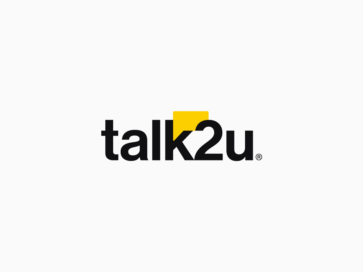 Talk2u Alternative Concept coral color instagram stories chat-bot chatbot ui icon branding typography vector logotypedesign logodesign isologotipo logotipo logotype logos