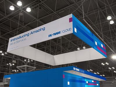 Ingram Cloud Proposal visual data mockup design brand vector illustration design branding mockup