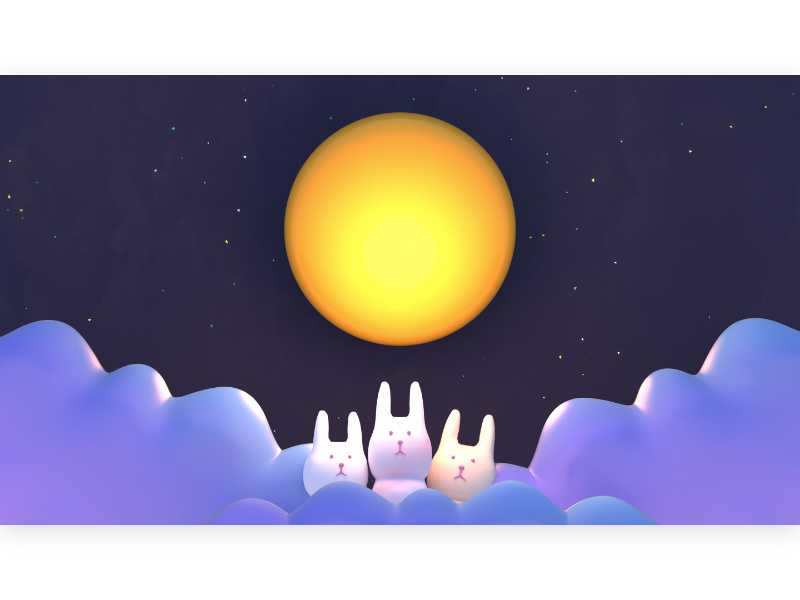 Chinese Mid Autumn Festival Design By Judy Kao On Dribbble