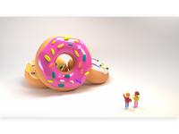 big donuts