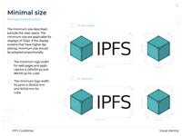Minimal size logo IPFS