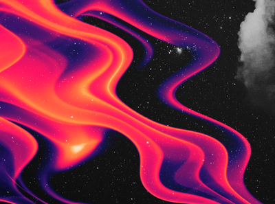 abstract.008 waves night red scifi stars space graphic design design abstract art abstract galaxy wallpaper