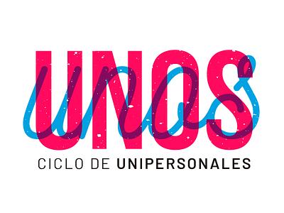 Unos branding theater typography logotype logo