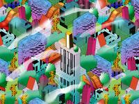 Patterned Cityscape