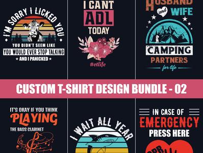 Custom T-shirt Design Bundle-02