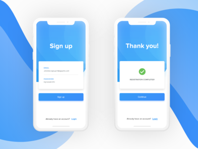 Daily UI  #1 | Sign Up Screen. mobile application design mobile app ux design ui desgin web freebie app ios dailyui creative concept ux ui clean