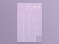 Daily UI/004: Calculator