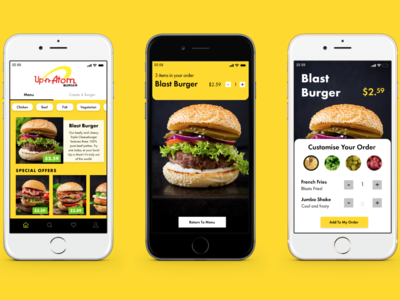 UI: Up and Atom Burger