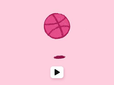 Gif Controller Mockup handdrawn animation adobe xd procreate dribble shot dribbble logo ux design