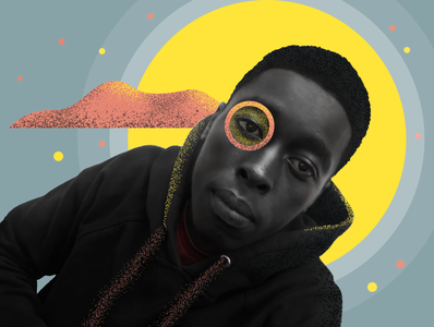 New Profile abstract warrior kenyan art kenyan african black art black collage illustration photography profile