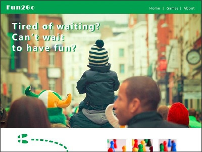 day003 - landing page(before the fold)