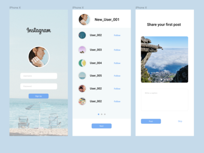 001 Sign Up Page