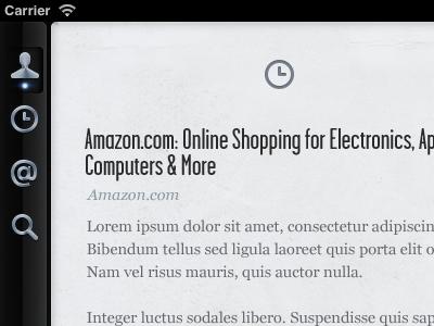 iPad App ipad newspaper times twitter ui