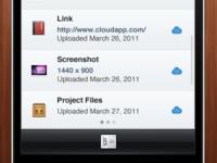 Cloud iPhone App