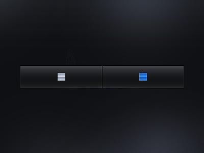 iPhone Tab Bar iphone tab bar tab icon blue black