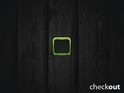 Checkout icon checkout green black grocery