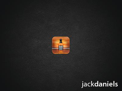 Jack Daniel's jack daniels wood iphone icon iphone icon