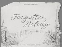 Forgotten Melody Font