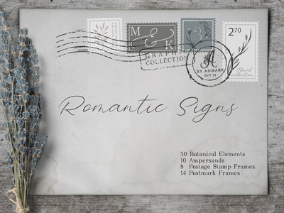 Romantic Signs - Graphic Collection