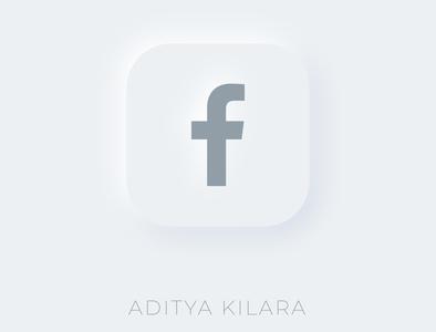 Neumorphism - Facebook