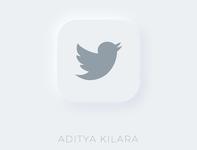 Neumorphism - Twitter